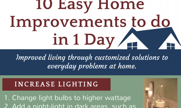 10 Easy Home Improvements to do in 1 Day