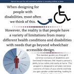 First page thumbnail of 5 disabilities immersion experiences for contractors.