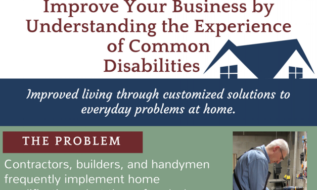Improve Your Business by Understanding the Experience of Common Disabilities